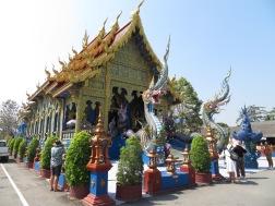 Chiang Rai Blue Temple - 6