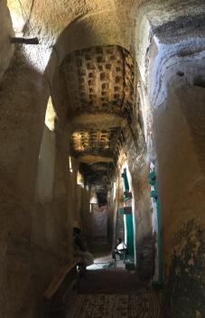 Entry Area, Medhane Alem Kesho Church, Tigray, Ethiopia 2018
