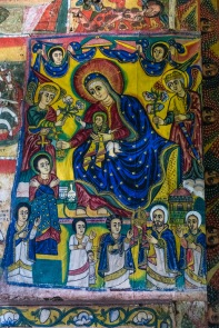 Ura Kidane Meret Monastery, Zege Peninsula, Lake Tana, Ethiopia 2018
